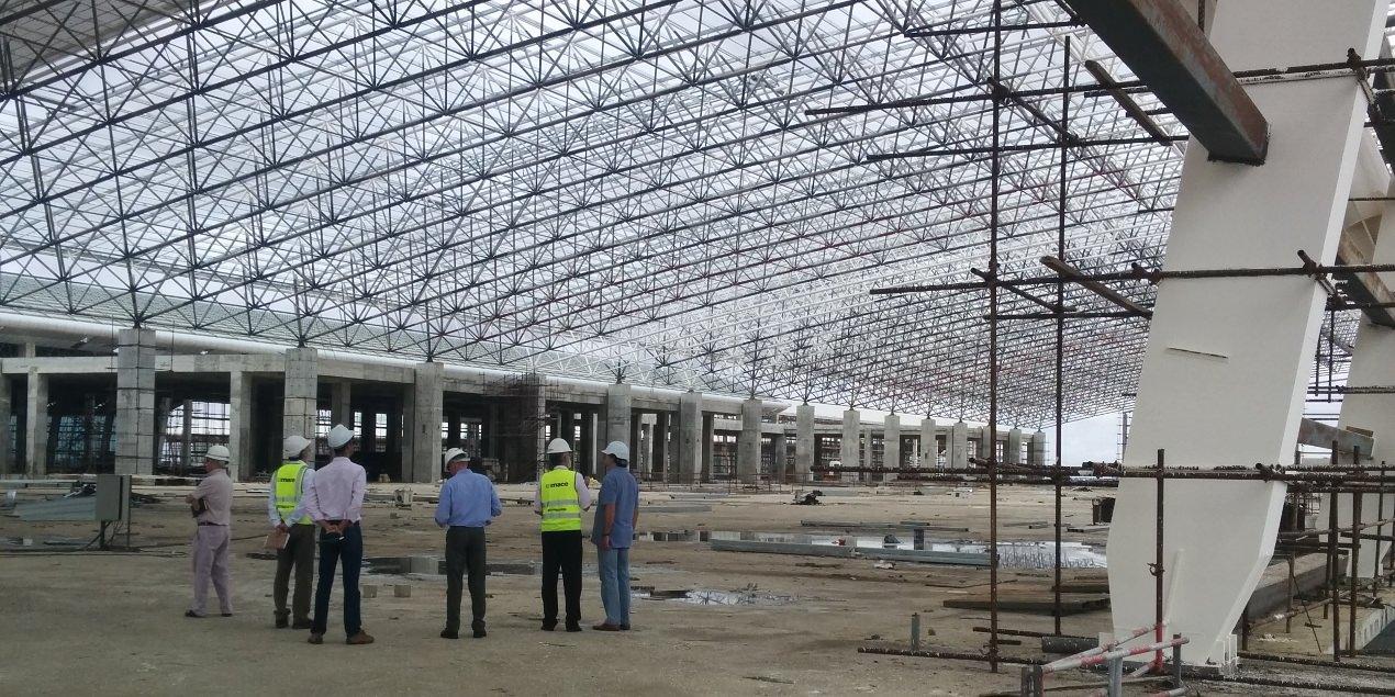 Aeroporto Luanda Chegadas : Novo contrato na área de aeroportos fiscalização do