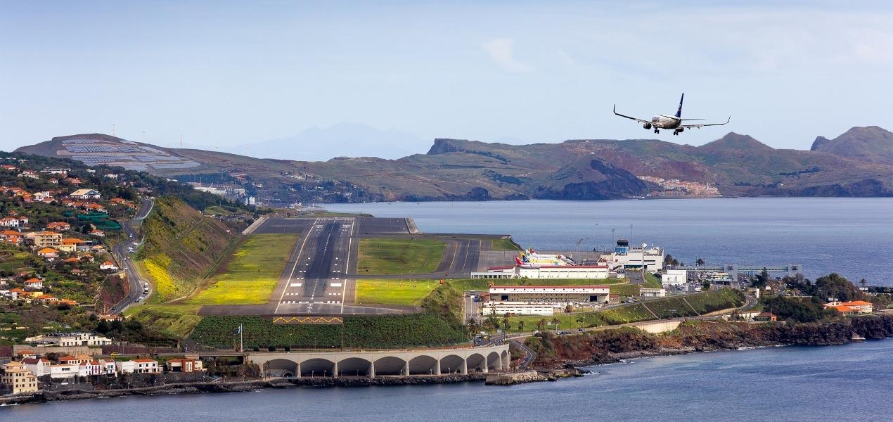 Aeroporto Madeira : Nrv norvia na fiscalização das obras do aeroporto da