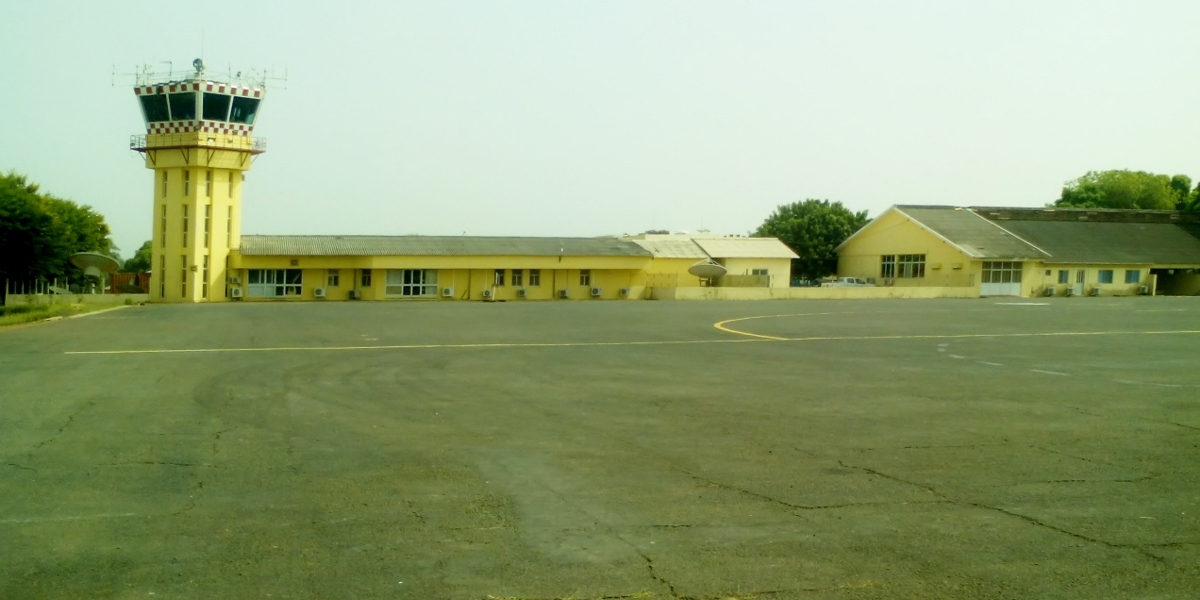 NRV is at Bissau airport