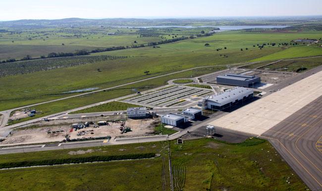 Aeroporto Viseu : Aeroporto de beja hangares terraplenagens e