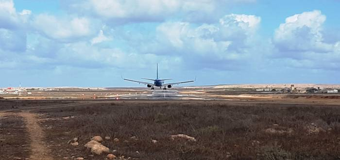 ARISTIDES PEREIRA AIRPORT - RUNWAY AND APRON