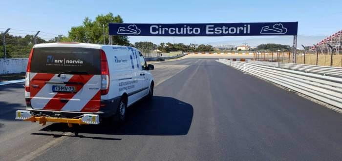 ESTORIL RACING CIRCUIT - TRACK REPAIR